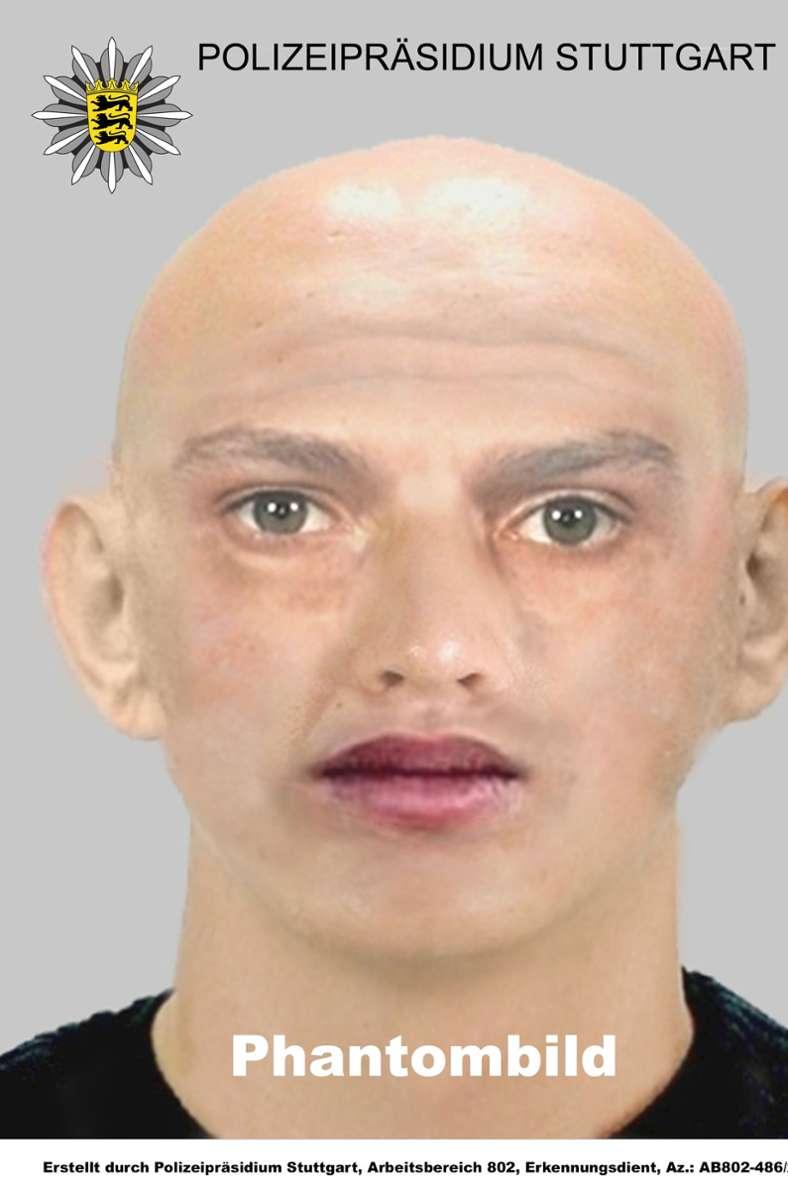 Laut Polizei soll der mutmaßliche Täter etwa 175 bis 180 Zentimeter groß sein, eine Glatze haben und etwa 35 bis 40 Jahre alt sein. Besonders auffallend waren seine dicken Lippen und eine Tasche, die er mit sich trug. Bekleidet war der Angreifer mit einem grauen T-Shirt und einer Jeans. Foto: Polizei Stuttgart