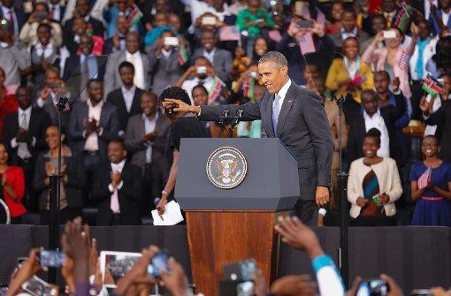 Obama wendet sich an die Kenianer