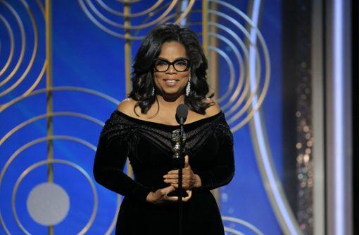 Warum Oprah Winfreys Rede mit stehendem Applaus gefeiert wurde