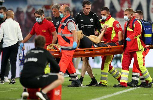 VfB-Stürmer meldet sich nach Operation aus Klinik