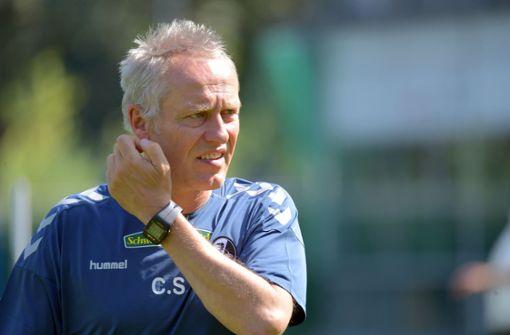 Trainer Streich fehlt bei ersten Bundesliga-Spiel der Saison