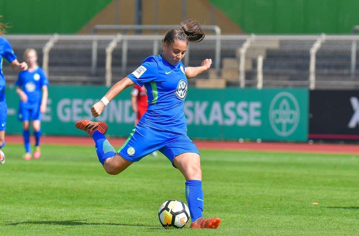 Noemi Gentile, hier noch im Einsatz für den VfL Wolfsburg, möchte in Zukunft für den SC Sand ihr Bestes geben. Foto: Privat