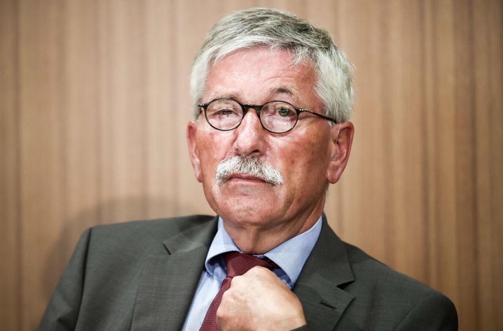 Die SPDdarf Thilo Sarrazin aus der Partei ausschließen. Foto: dpa