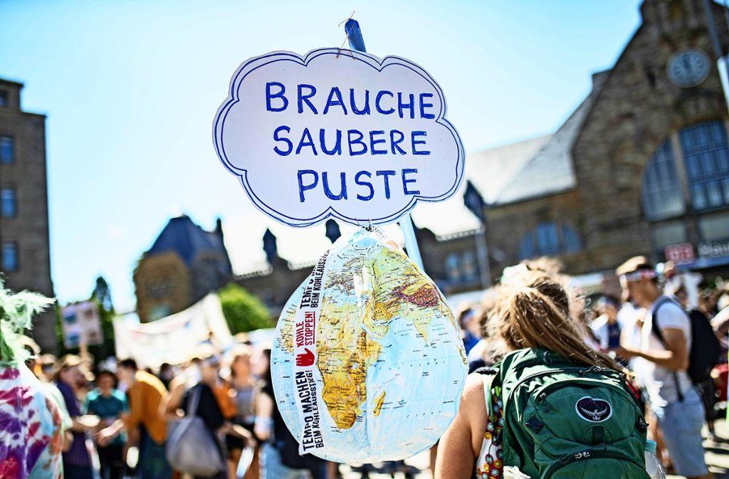 Um Klimaschutz und Nachhaltigkeit geht es bei der Fastenaktion der evangelischen Kirche Leonberg-Nord. Foto: dpa/Marcel Kusch