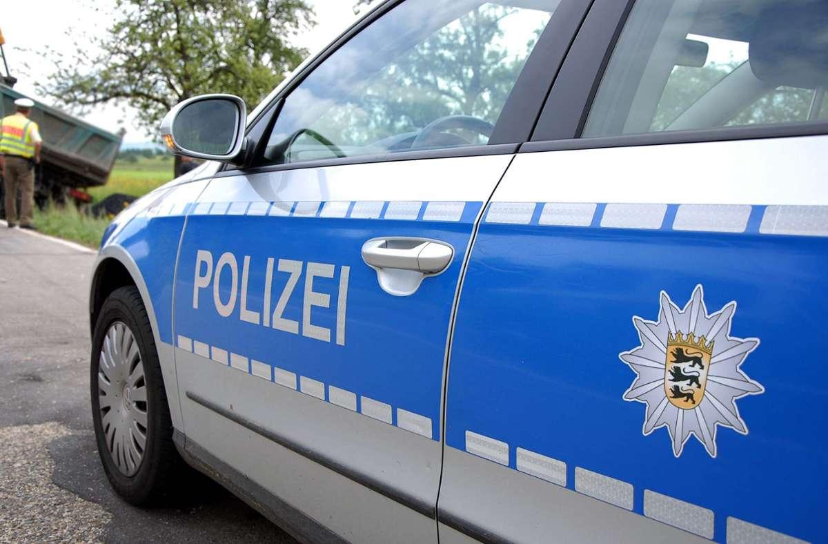 Vandalismus in Altdorf. Eine Hauswand wurde besprüht. Foto: Kreiszeitung Böblinger Bote/Thomas Bischof