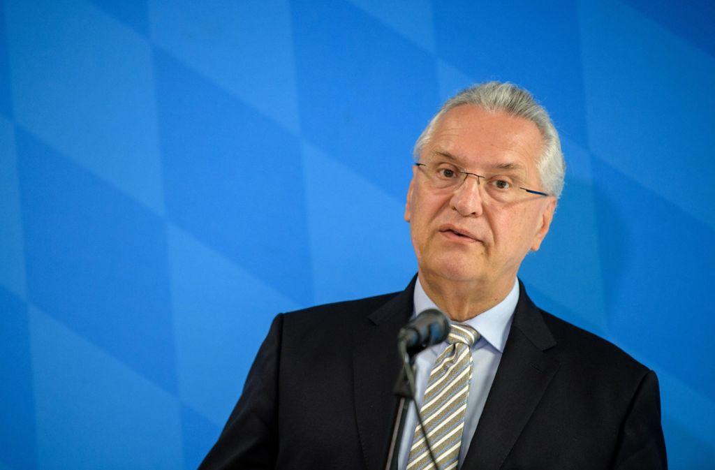 Joachim Hermann findet völlig offene Grenzen problematisch. Foto: dpa