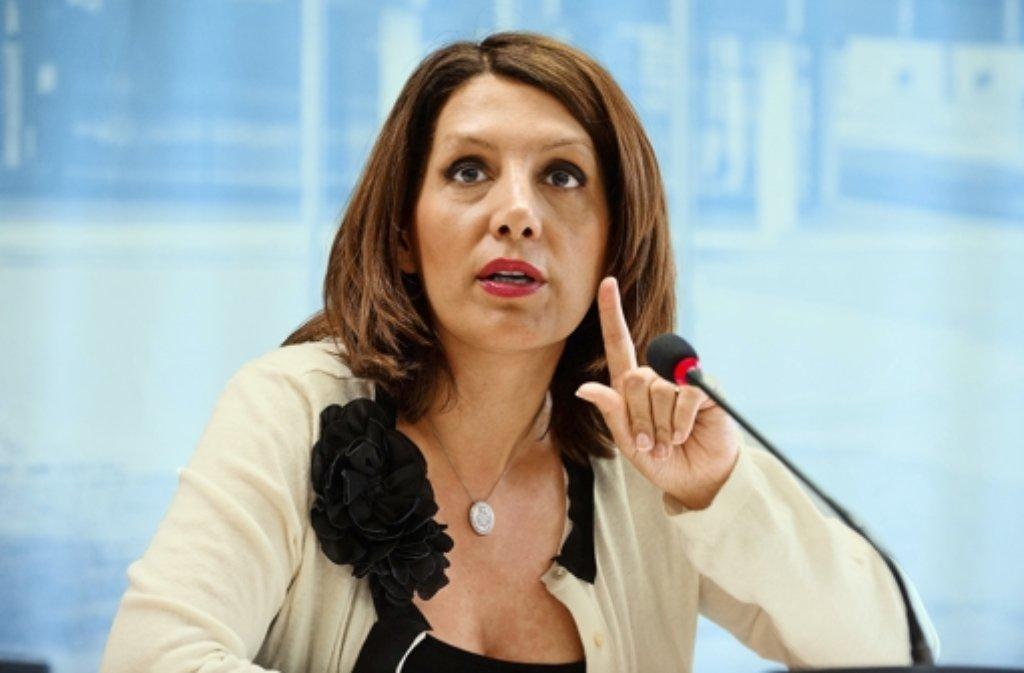 Integrationsministerin Bilkay Öney Foto: dpa