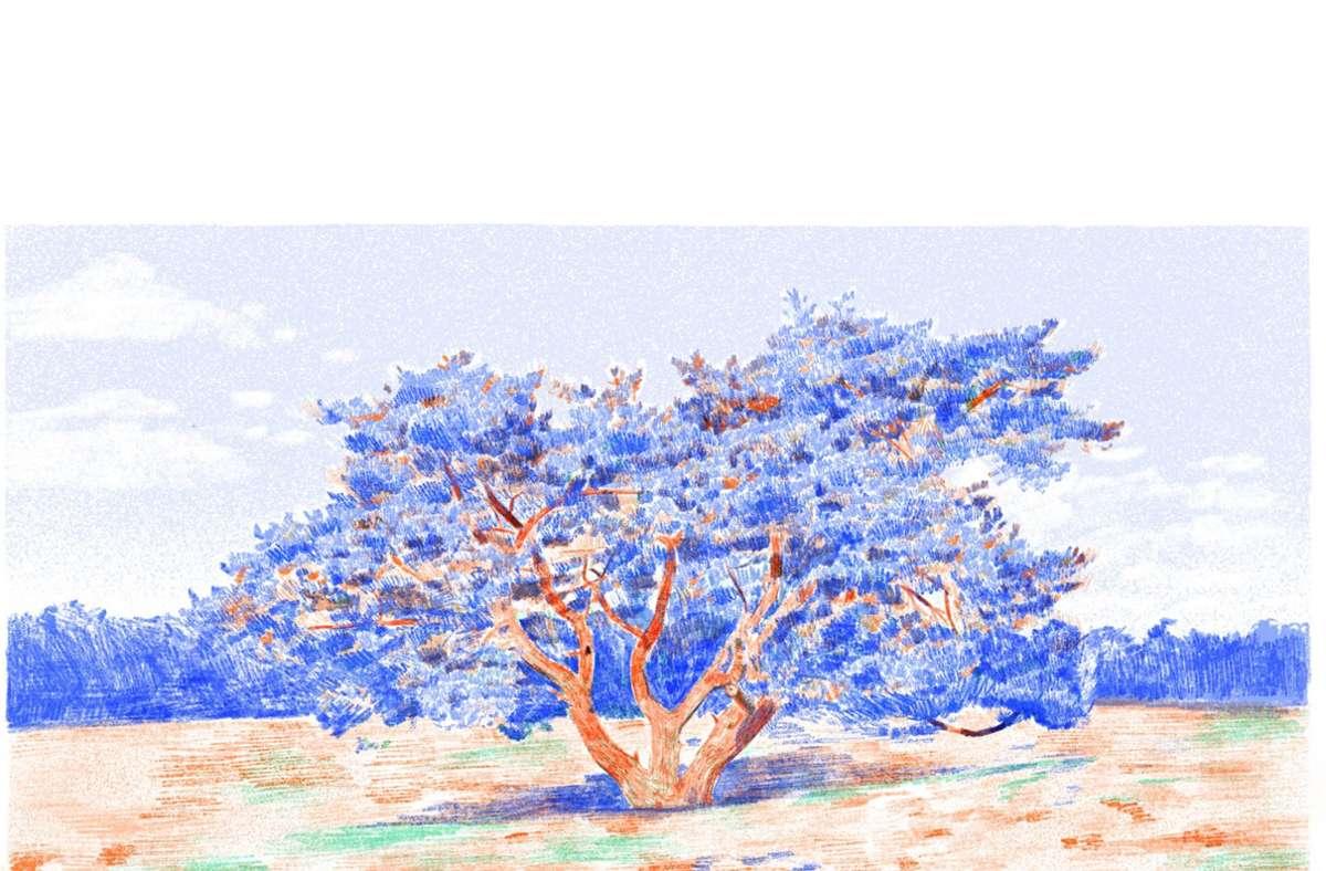 """Ausschnitt aus dem Werk """"Through the Dunes"""" von Lucie Langston. Foto: Bild: Lucie Langston"""