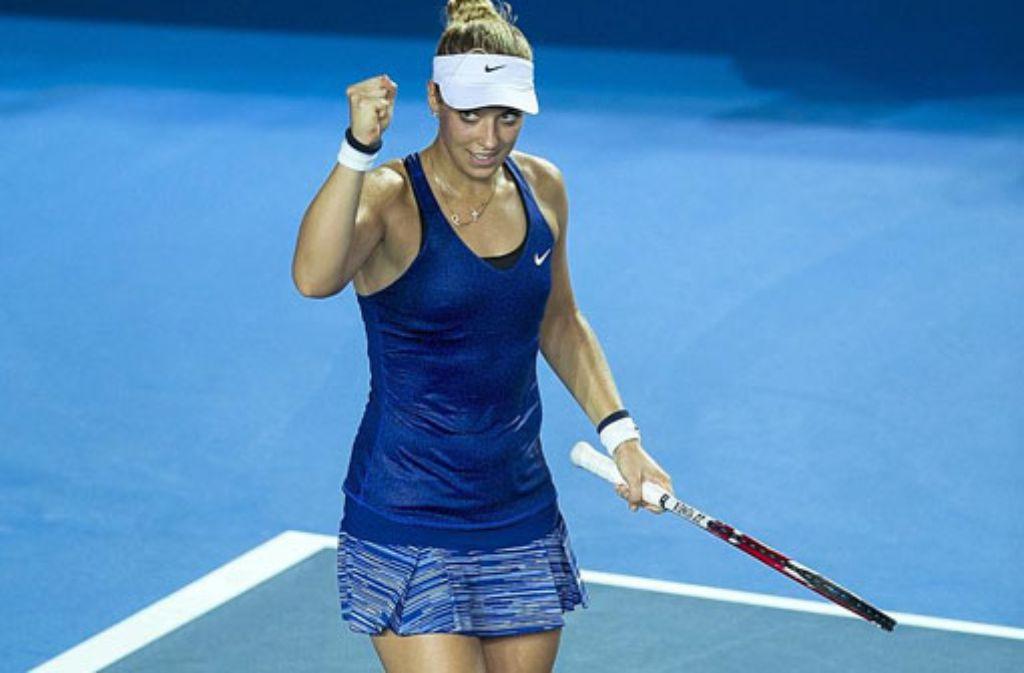 Sabine Lisicki steht im Finale des Turniers von Hongkong.  Foto: Getty Images AsiaPac