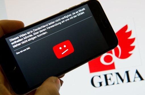 Tausende Musikvideos auf Youtube freigeschaltet