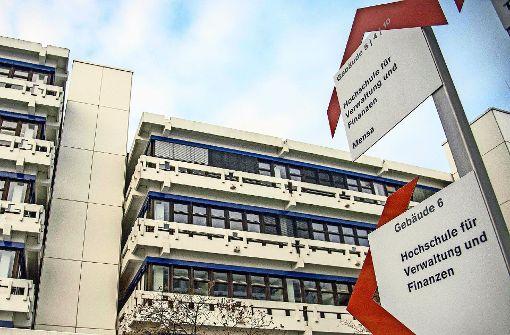 Die Verwaltungshochschule in Ludwigsburg. Foto: dpa