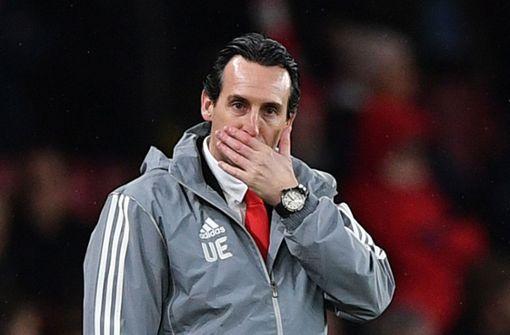 Trainer Emery muss nach einem Monat ohne Sieg gehen