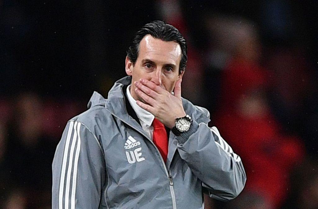 Unai Emery ist nicht länger Trainer von Arsenal London Foto: AFP/DANIEL LEAL-OLIVAS