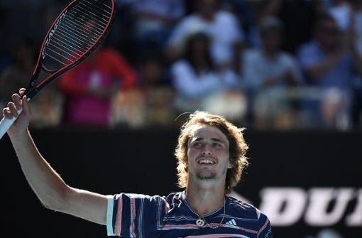 Alexander Zverev zieht nach Fehlstart in das Halbfinale ein
