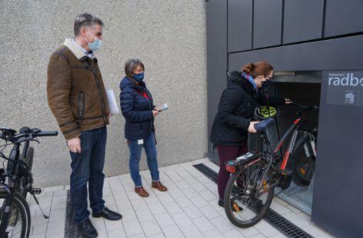 Fahrradparkhaus jetzt im Testbetrieb
