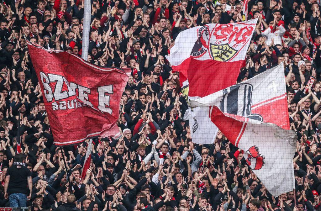 Der VfB Stuttgart setzte sich im Derby gegen den Karlsruher SC durch. Foto: dpa