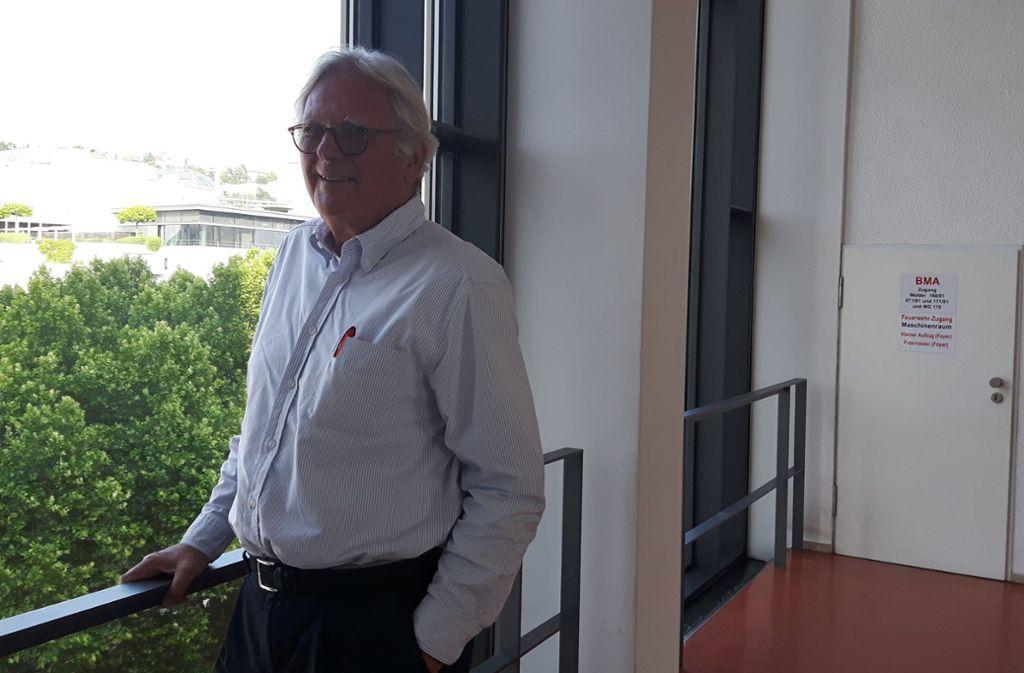 Sebastian Sage ging mehr als  30 Jahre im Stuttgarter Rathaus ein und aus. Foto: /Eva Funke