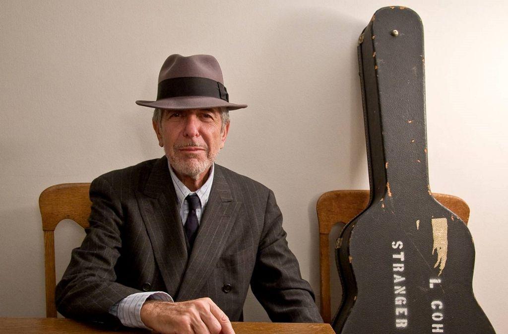 Der kanadische  Songwriter Leonard Cohen (1934–2016) Foto: Sony Music/Lorca Cohen