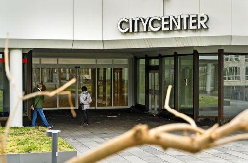 Citycenter endgültig verrammelt