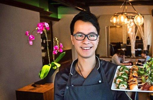 Bei Phuc Nguyens innovativem Sushi ist für jeden Geschmack etwas dabei. Foto: Achim Zweygarth