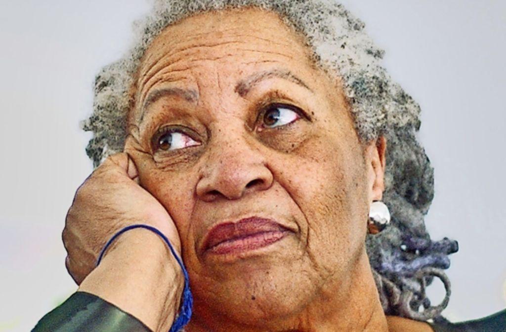 Stimme der Schwarzen: die US-amerikanische Autorin Toni Morrison Foto: AP