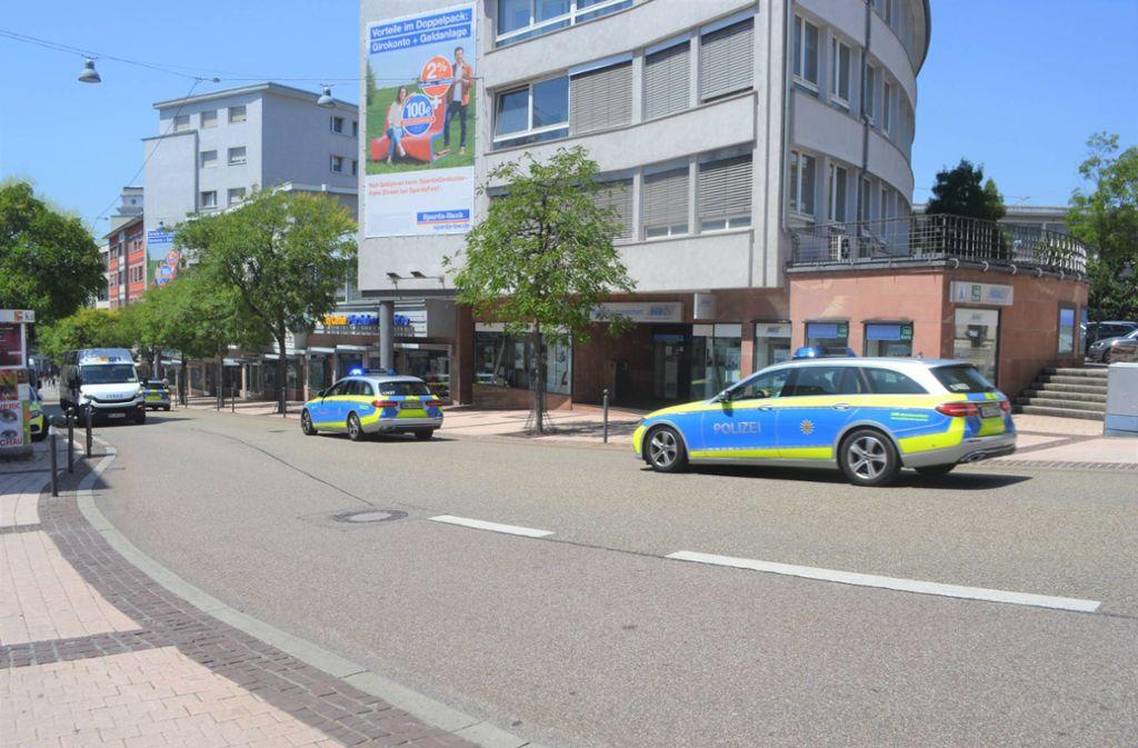 In Pforzheim ist es zu einer Bombendrohung gekommen. Foto: 7aktuell.de
