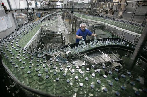 Mineralwasser kann knapp werden