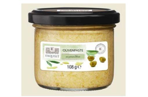 In Olivenpaste können Glassplitter sein