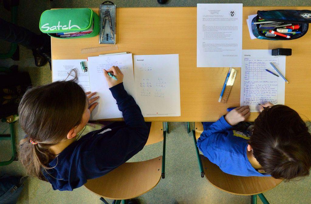 In Weil der Stadt lernen Schüler künftig zum Teil in Raummodulen. Foto: dpa