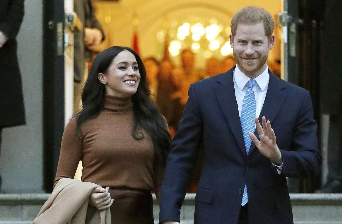 Herzogin Meghan und Prinz Harry nehmen die Arbeit für Archewell auf. Foto: dpa/Frank Augstein