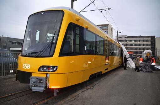 SSB enthüllt neue Stadtbahn