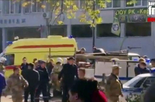 Selbstmordanschlag auf der Krim