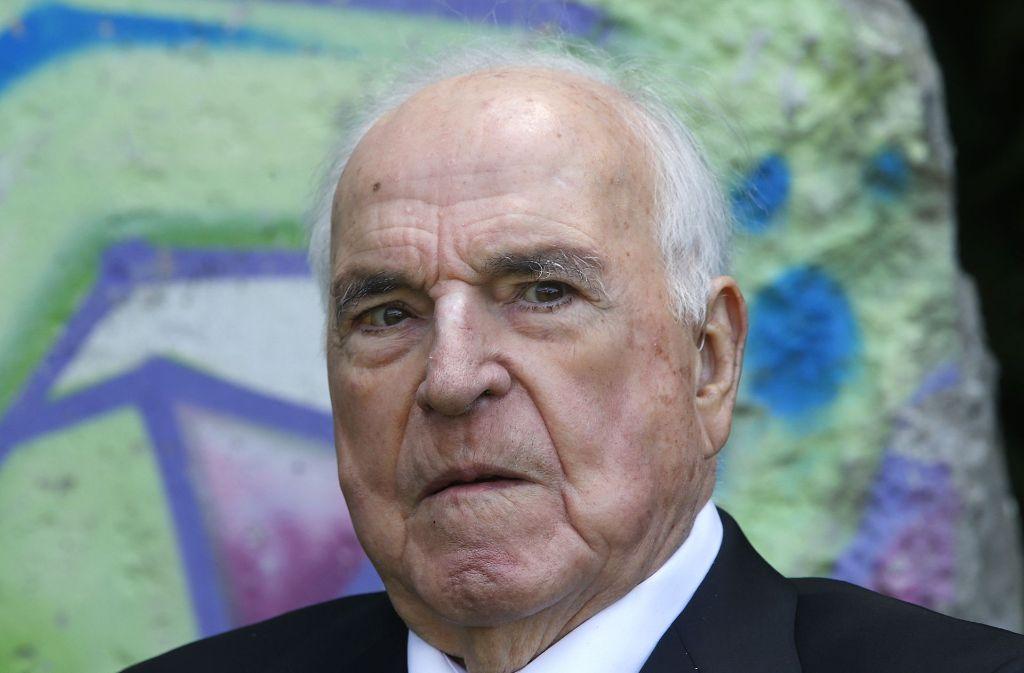 Helmut Kohl ist verstorben. Foto: AP