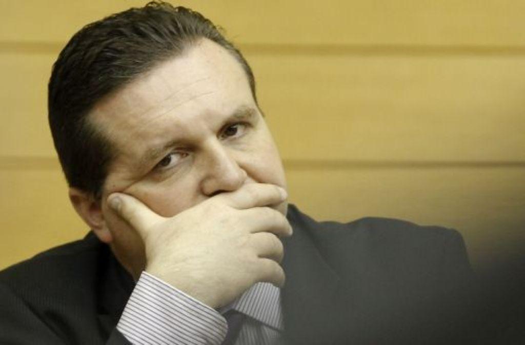 Droht Stefan Mappus nun doch ein Untersuchungsausschuss? Foto: dapd