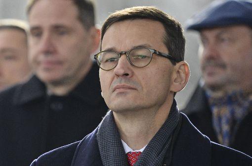 Mateusz Morawiecki zum Ministerpräsidenten ernannt
