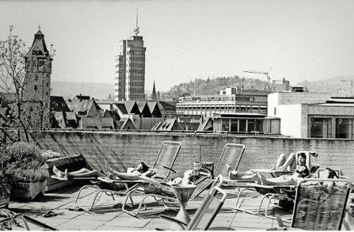 Schwimmspaß  mitten in der City – bis heute bei vielen unvergessen