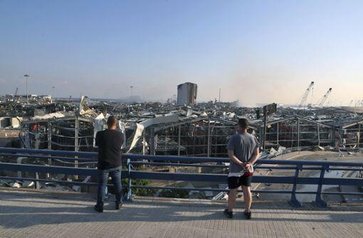 Umweltministerium hält Explosion wie in Beirut für unwahrscheinlich