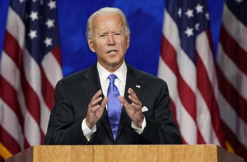 Joe Biden nimmt Nominierung an und will USA einen