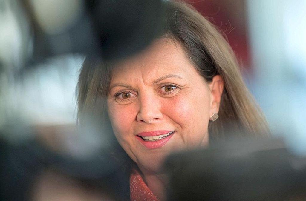 Ilse Aigner (CSU), die neue Parlamentspräsidentin in Bayern Foto: dpa