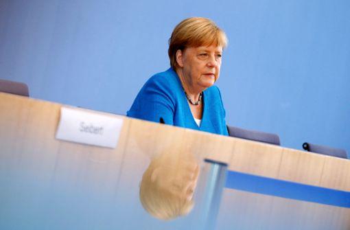 Merkels heikelster Satz