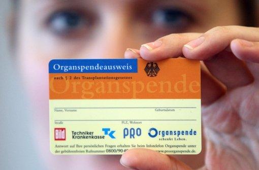 Wieder mehr Organspender im Land
