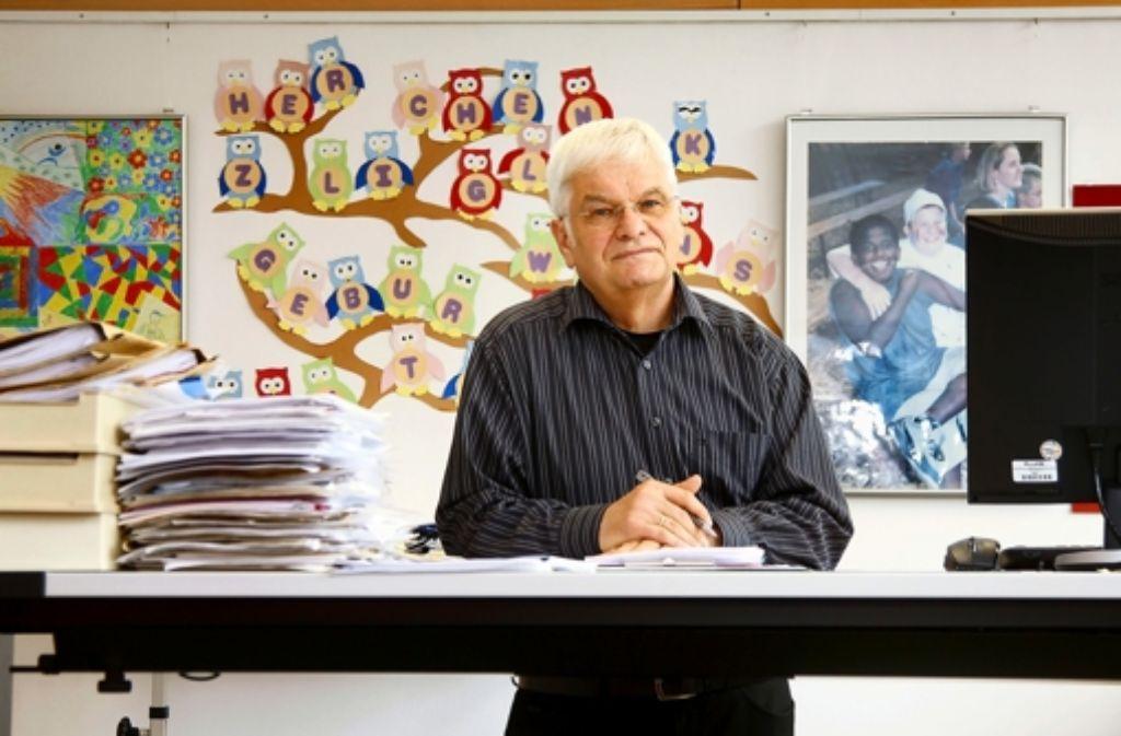Walter Link im Rektorat Foto: FACTUM-WEISE