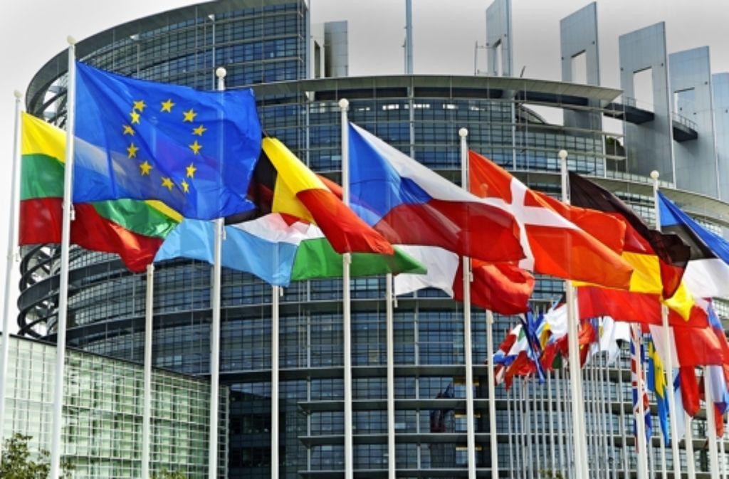 Am 25. Mai wählen die Bürger ein neues Europaparlament. Foto: dpa
