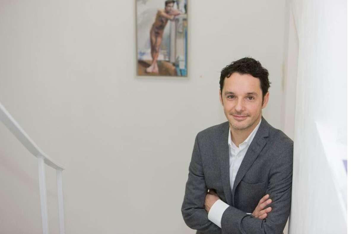 Der Stuttgarter Galerist Thomas Fuchs kann aufatmen. Foto: privat