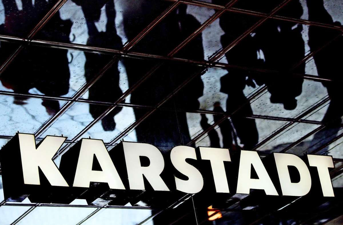 Die Leonberger Karstadt-Filiale soll geschlossen werden. Foto: dpa/Oliver Berg