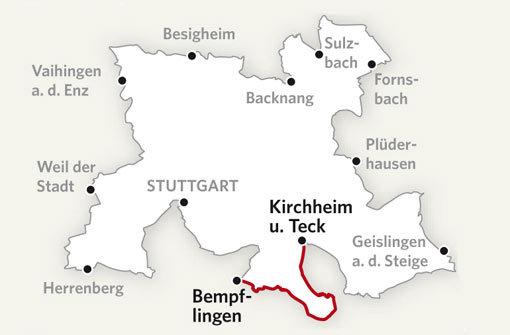 Von Kirchheim nach Bempflingen