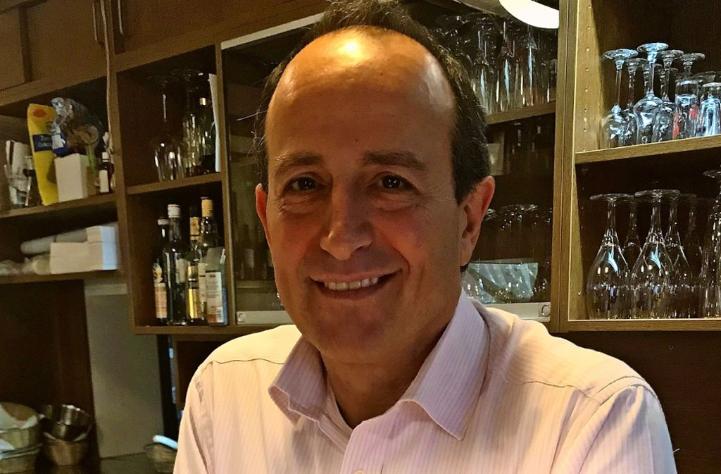 Giovanni Pagano führt La Taverna da Pagano am Zacke-Bahnhof. Foto: Julia Bosch