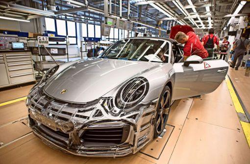 Porsche hautnah: Blick hinter die Werkstore