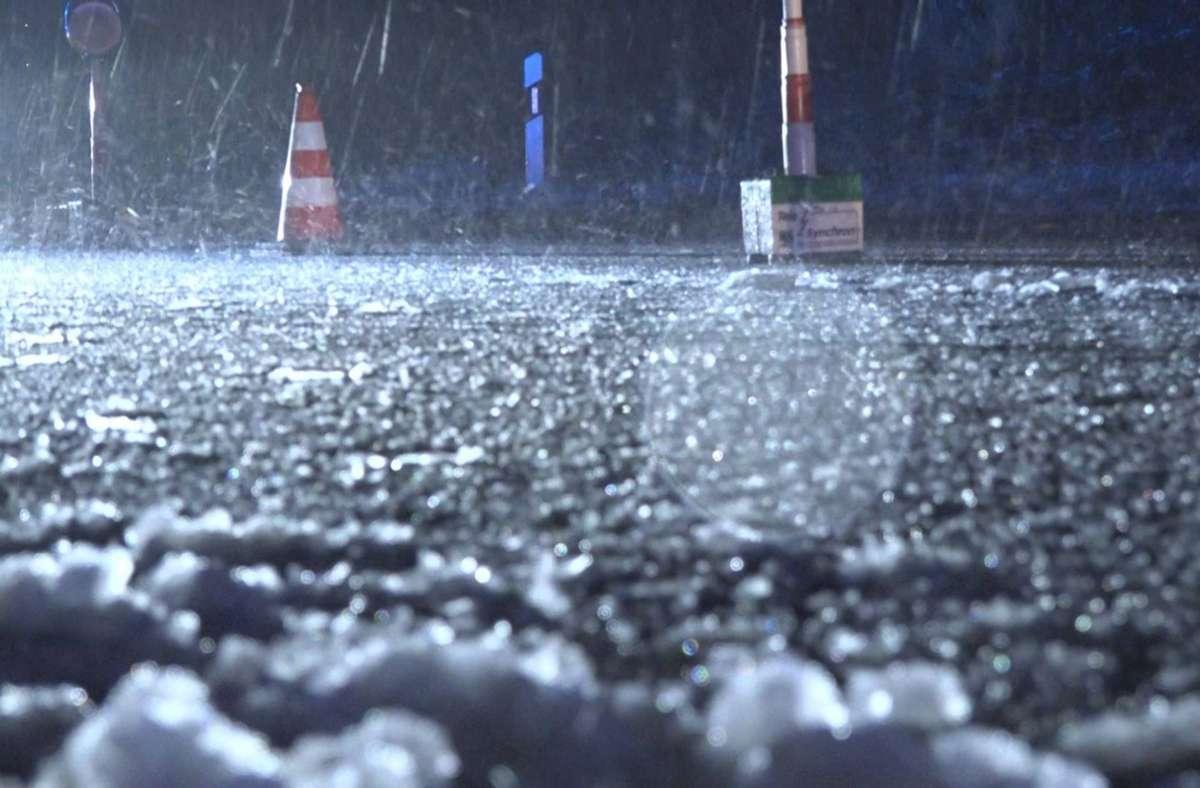 Auf glatten Straßen ist es am Dienstag im Rems-Murr-Kreis zu Unfällen gekommen. Foto: 7aktuell.de/Oskar Eyb/7aktuell.de | Oskar Eyb
