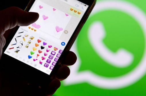 WhatsApp sperrt zwei Millionen Accounts